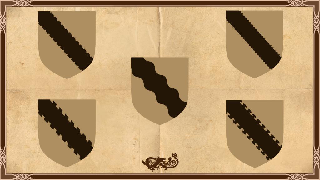 Heraldic Lines - Sample