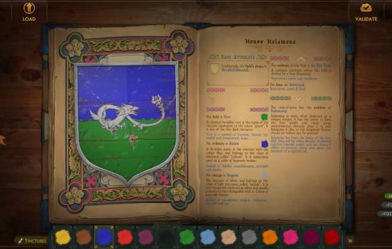 Coa Editor screen - next version
