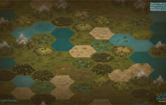Week 20 - Random Generated Map, Strategic Distance